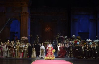 H συλλογή των Dolce&Gabbana είναι μια υπέροχη ωδή στην όπερα