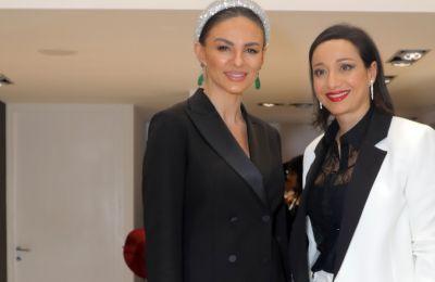 Στο Χριστουγεννιάτικο πάρτι για τα 30 χρόνια LABELS x Trussardi στη LABELS Boutique