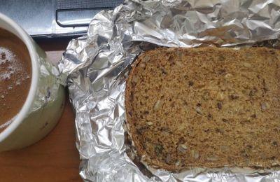 Σάντουιτς με φιστικοβούτυρο