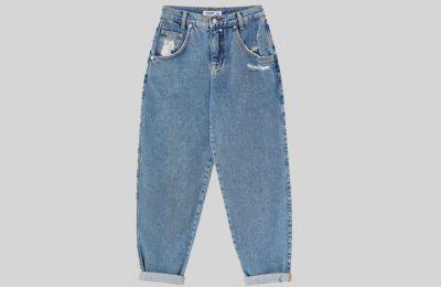 Ξεβαμμένο Jean από Pull & Bear