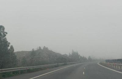Σπάνιο φαινόμενο το πέπλο ομίχλης που καλύπτει την Κύπρο
