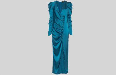 Σατέν φόρεμα De La Vali €374 από farfetch
