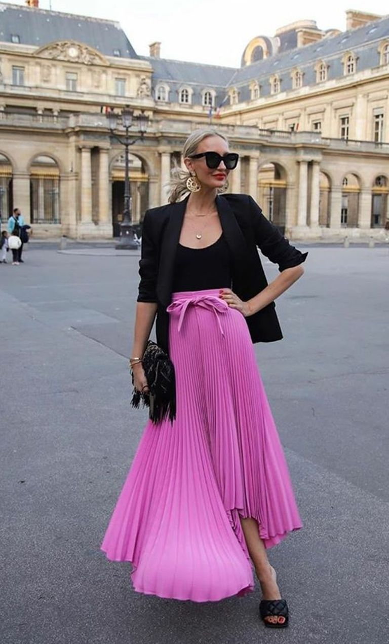 Pleats for the win