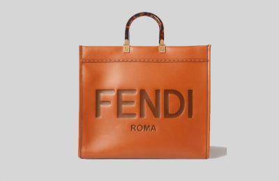 Fendi δερμάτινη tote €2,200 από net-a-porter