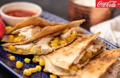 Γρήγορα και εύκολα Quesadillas με κοτόπουλο