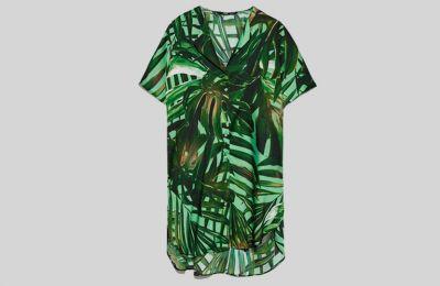 Printed πουκάμισο €29.95 από Zara