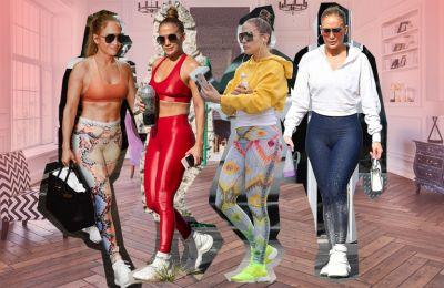 H JLo θα είναι για πάντα το quarantine fashion inspo μας