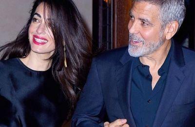 George - Amal Clooney: Δωρεά 1 εκατ. δολάριων για την καταπολέμηση του κορωνοϊού