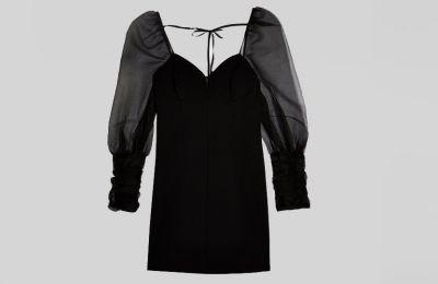 Mαύρο mini φόρεμα από Topshop