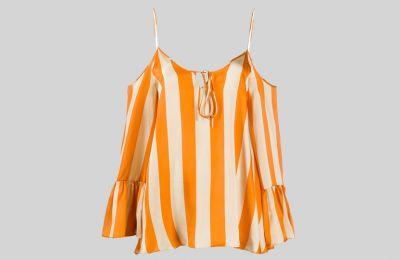 Μακρυμάνικη ριγέ μπλούζα €520 από Amicci