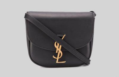 Μαύρη Saint Laurent Mini Kaia τσάντα από Amicci
