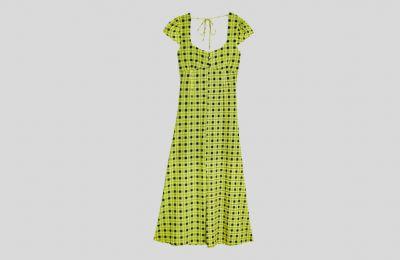 Πράσινο mesh midi φόρεμα από Topshop