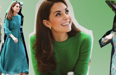 Αυτός είναι ο λόγος που η Kate φοράει συχνά πράσινο