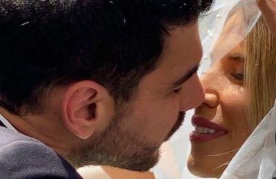 Ο Σταύρος Κωνσταντίνου και η Έλενα Ανδρέου παντρεύτηκαν