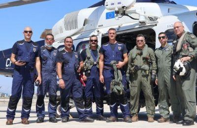Εικόνες από την αναχώρηση της κυπριακής αποστολής για τον Λίβανο
