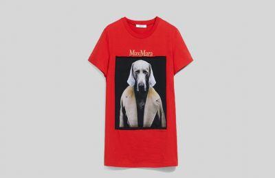 Cotton jersey μπλουζάκι €205 από Max Mara
