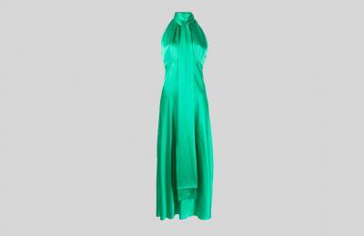 Saloni σατέν φόρεμα €510 από Amicci