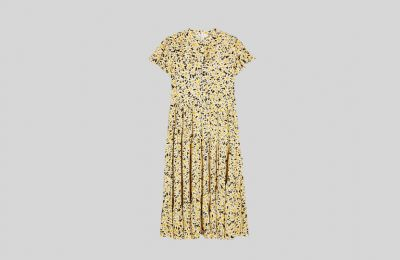 Φόρεμα με εμπριμέ μαργαρίτες από Topshop