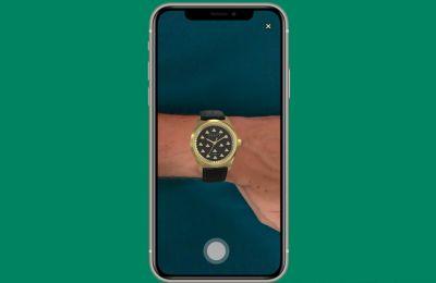 H τεχνολογία AR είναι πλέον διαθέσιμη για χρήση και με τα ρολόγια Gucci!
