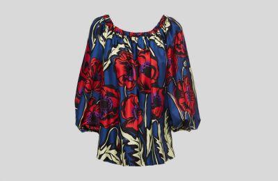 Silk μπλούζα La Doublejn €280 από Tiffany Boutique