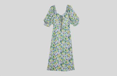 Puffy sleeve φόρεμα €38 από Topshop