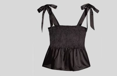 Μαύρο Camisole Top €26 από Topshop