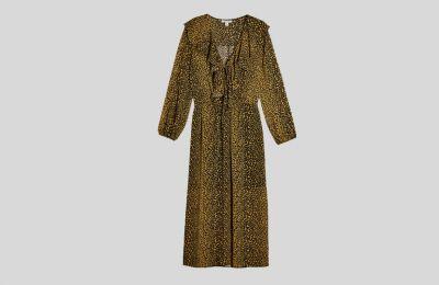 Λεοπάρ εμπριμέ φόρεμα €34 από Topshop