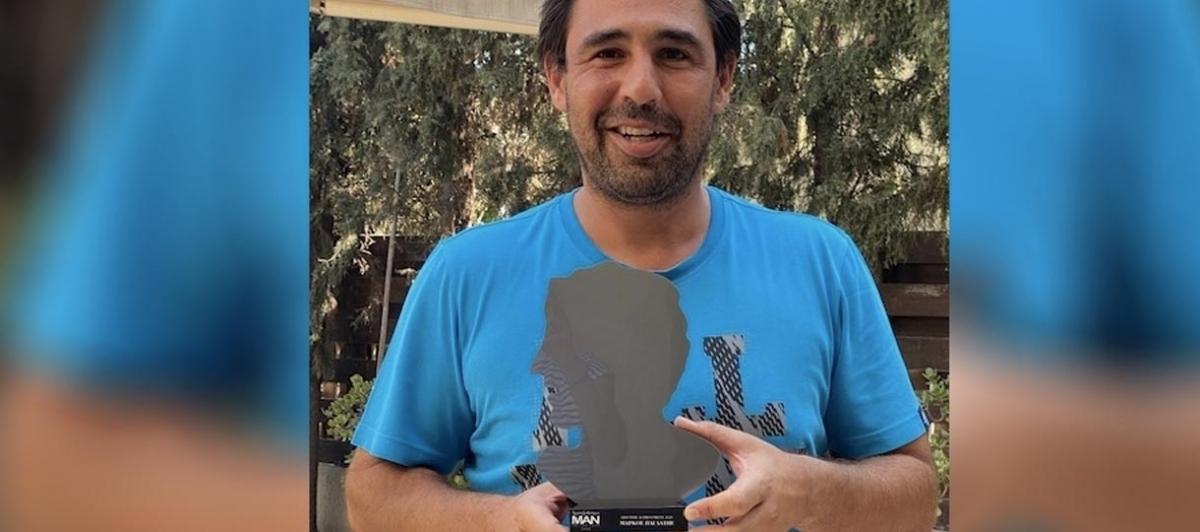 Βραβείο Συνολικής Προσφοράς στον Μάρκο Παγδατή