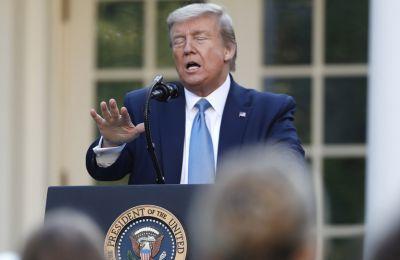 Ο Trump απειλεί τους οπαδούς του: «Δεν θα σας ξαναμιλήσω ποτέ, αν νικήσει ο Joe Biden!»
