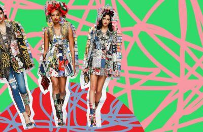 Η νέα συλλογή του Dolce & Gabbana μας θυμίζει κάτι από παλιά