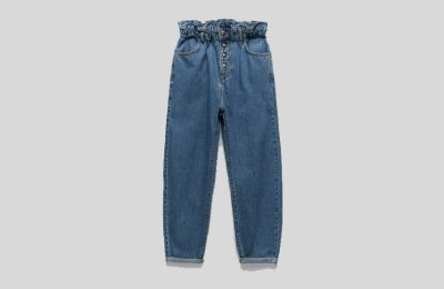 Jean παντελόνι με baggy εφαρμογή €29.95 από Zara