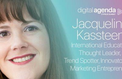 H Jacqueline Kassteen στο συνέδριο Digital Agenda Cyprus Summit 2020
