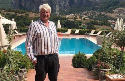 Ο πατέρας του Boris Johnson στην Αθήνα και η «επίθεση» για την μάσκα