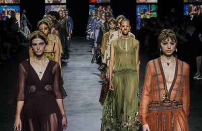 O Dior έκανε την ανατροπή στην ανοιξιάτικη συλλογή του