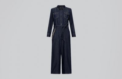 Denim jumpsuit €245 από Marella