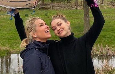Η Yolanda Hadid ανέβασε μια νέα φωτογραφία του μωρού της Gigi