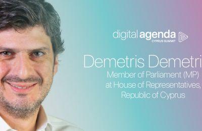 Ο Δημήτρης Δημητρίου στο συνέδριο Digital Agenda Cyprus Summit 2020