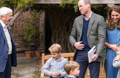 O William η Kate και τα παιδιά ετοίμασαν γλυκά για τους βετεράνους του πολέμου