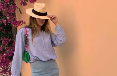 Η Λουΐζα Πιτσιλίδη με ένα wow color combo που πρέπει να αντιγράψετε