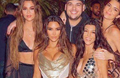 All photos are taken from @kimkardashian