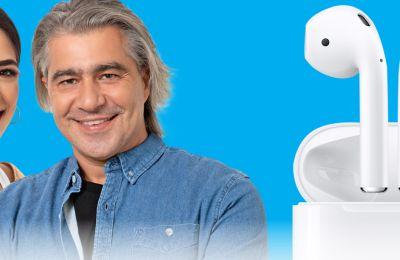 Ο Deejay Radio 93 5 xαρίζει 4 φανταστικά Apple AirPods