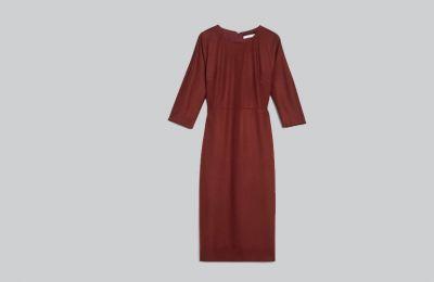 Wool jersey φόρεμα €505 από Max Mara