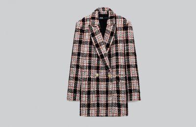 Καρό blazer €59.95 από Zara