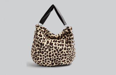 Furry λεοπάρ τσάντα €46 από Topshop