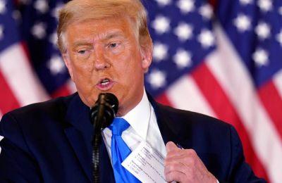Βρίζει έξαλλος ο Trump: Έχασε τον στόχο του στο golf