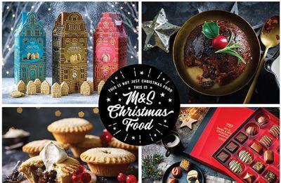 Αν ψάχνεις τον πιο απολαυστικό χριστουγεννιάτικο προορισμό, θα τον βρεις στα Marks & Spencer!
