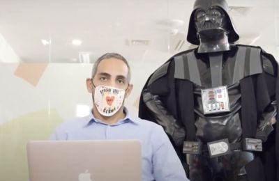 ΟΝΕΚ: Μέτρα προστασίας στον χώρο εργασίας σε συνεργασία με τον «Darth Vader»