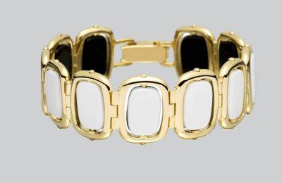 Χρυσό βραχιόλι IVI €825 από Amicci
