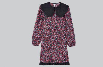 Ditsy floral φόρεμα με κολάρο €38 από Topshop