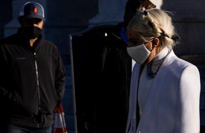 Lady Gaga: Η chic εμφάνιση στο Καπιτώλιο και το ηχηρό μήνυμα που έστειλε